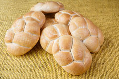Rolls from the bakery Stock Photo