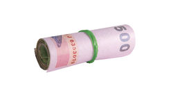 Rolls of banknote of Thai Royalty Free Stock Image