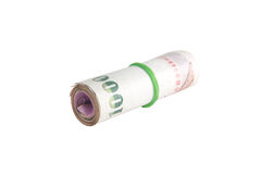 Rolls of banknote of Thai Royalty Free Stock Photography