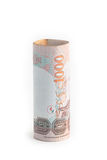 Rolls of banknote of Thai currency Royalty Free Stock Photo