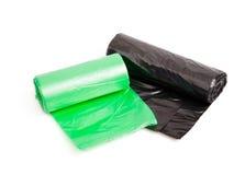Rolls of bin bags Royalty Free Stock Image