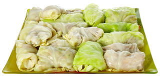 Rolls of cabbage Royalty Free Stock Photos