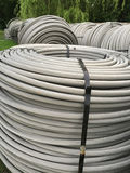 Rolls  of cable background Stock Photography