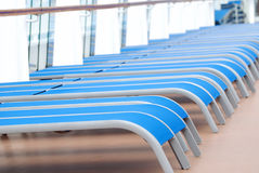 Rolls of chairs Royalty Free Stock Image