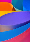 Rolls of color paper Royalty Free Stock Photography