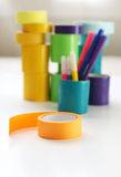 Colorful Craft and Duct Tape Royalty Free Stock Photos