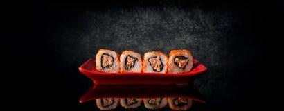 Rolls com atum Fotos de Stock