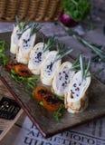Rolls com queijo Imagens de Stock
