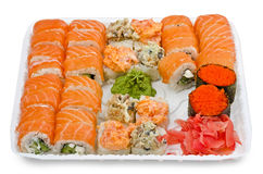 Rolls in container Royalty Free Stock Images