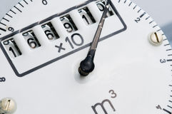Rolls counter with damaged needle Stock Photo