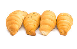 Rolls croissants Royalty Free Stock Images