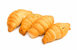 Rolls croissants Royalty Free Stock Photo