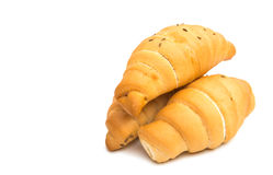 Rolls croissants Royalty Free Stock Image
