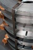 Rolls d'acier Photographie stock
