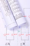 Rolls de diagramas bondes Fotos de Stock