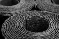 Rolls de feutre de toiture Photos libres de droits
