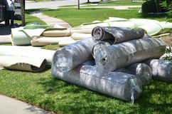 Rolls de la alfombra Fotografía de archivo libre de regalías