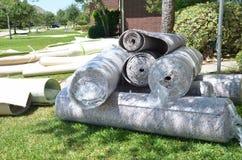 Rolls de la alfombra Imagen de archivo