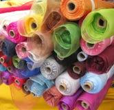 Rolls del materiale di modo Fotografie Stock
