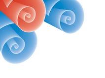Rolls del papel Imagen de archivo libre de regalías