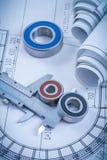 Rolls del rotolamento rotondo dei disegni di costruzione Immagine Stock Libera da Diritti
