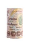 Rolls della banconota di valuta tailandese Fotografia Stock Libera da Diritti
