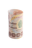 Rolls della banconota di valuta tailandese immagine stock