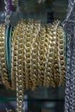 Rolls delle catene decorative Immagini Stock