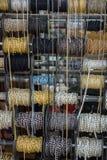 Rolls delle catene decorative Fotografia Stock
