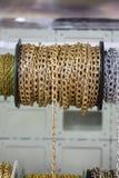 Rolls delle catene decorative Immagini Stock Libere da Diritti