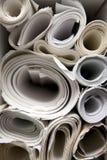 Rolls delle cianografie fotografia stock libera da diritti
