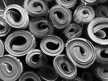 Rolls der Papierbeschaffenheit Lizenzfreies Stockbild