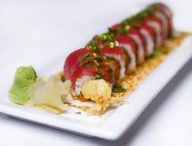 Rolls der Sushi Stockfotografie
