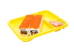 Rolls der Sushi Stockbild
