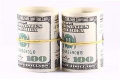Rolls des Geldes Stockfotos