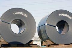 Rolls des Stahlblechs Lizenzfreies Stockbild