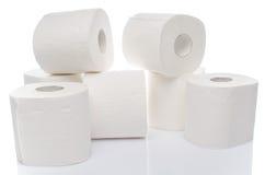 Rolls des Toilettenpapiers Stockfotografie