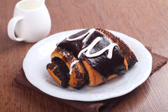 Rolls do biscoito da massa Foto de Stock
