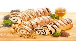 Rolls dolce Immagini Stock