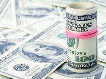 Rolls of dollars Royalty Free Stock Photo
