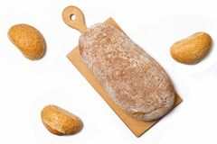 Rolls e pão Fotografia de Stock
