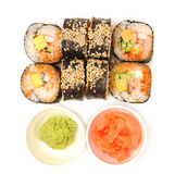 Rolls with eel Royalty Free Stock Image