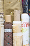 Rolls of fabric Royalty Free Stock Photography