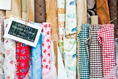 Rolls of fabric Royalty Free Stock Images