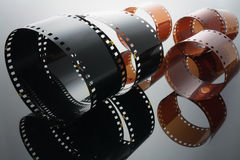Rolls of Film Royalty Free Stock Photos