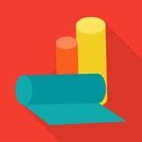 Rolls of Garbage Bags Vector Illustration. vector illustration