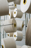 Rolls of industrial cotton Royalty Free Stock Image