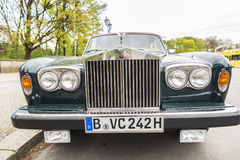 Rolls-$l*royce στο Βερολίνο, Γερμανία Στοκ φωτογραφίες με δικαίωμα ελεύθερης χρήσης