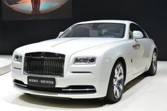 Rolls-$l*royce Wraith - που εμπνέεται από τη μόδα Στοκ Φωτογραφίες