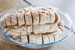 Rolls med russin från gluten-fritt mjöl Royaltyfria Foton